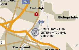 Southampton Airport UK