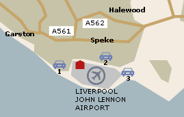 Liverpool Airport UK