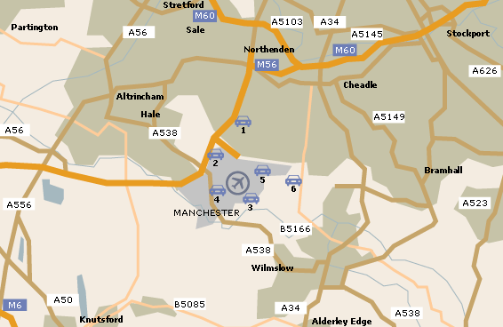 Map Of Manchester Airport Manchester Airport Map Map Of Manchester Airport